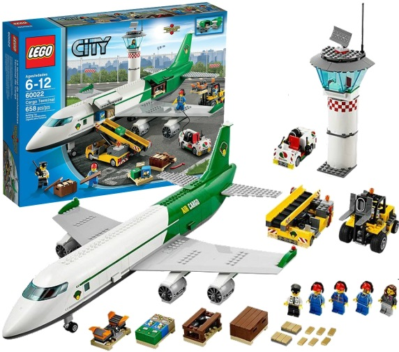 Avion A Lego City