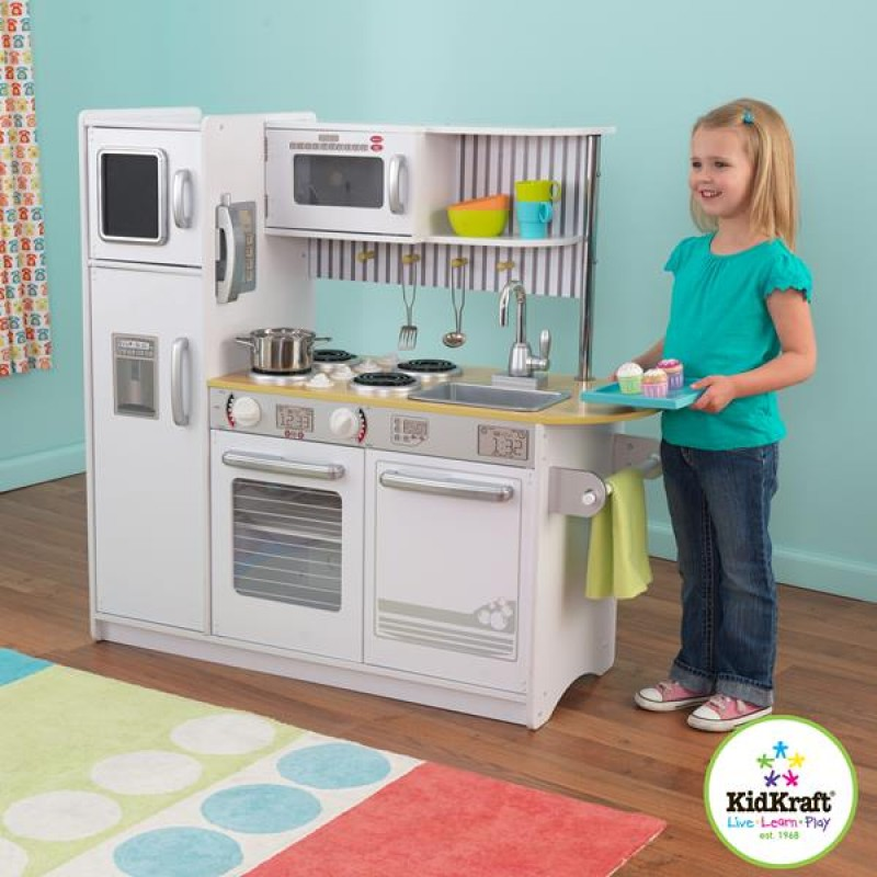 White Petal Kidkraft Kitchen