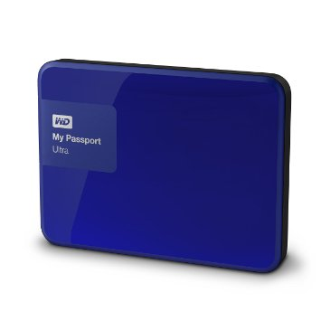 Western Digital WD 1TB My passport ultra 2015 Blue