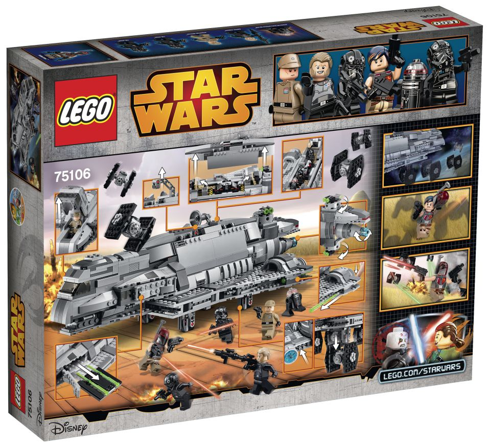 Lego Star Wars Imperial Assault carri 75106