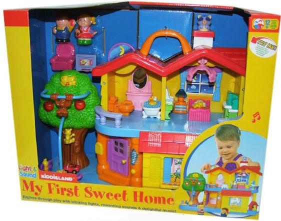 kiddieland my first sweet home 032730. Black Bedroom Furniture Sets. Home Design Ideas