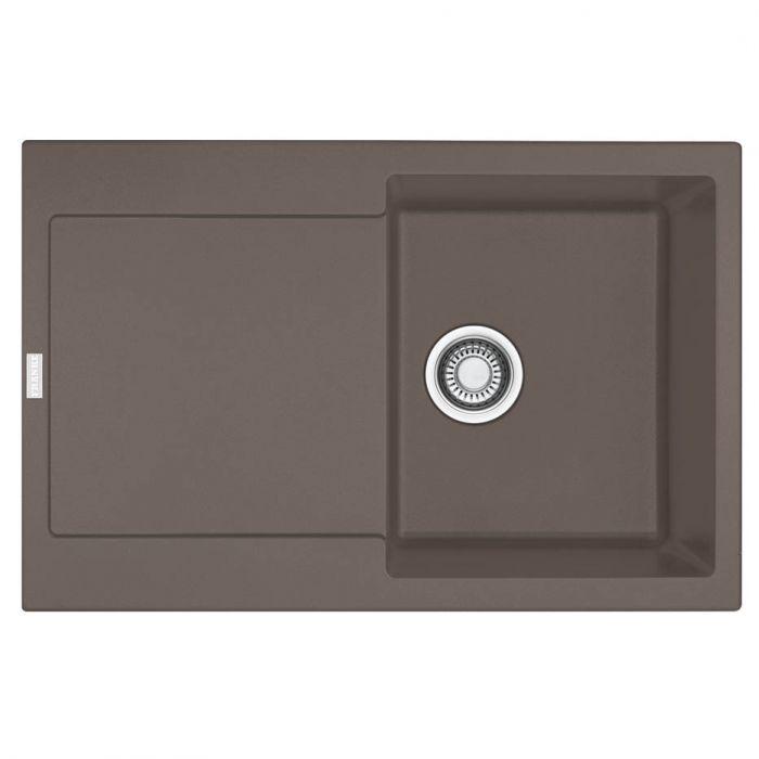 franke maris mrg 611 78 fragranite umbra. Black Bedroom Furniture Sets. Home Design Ideas