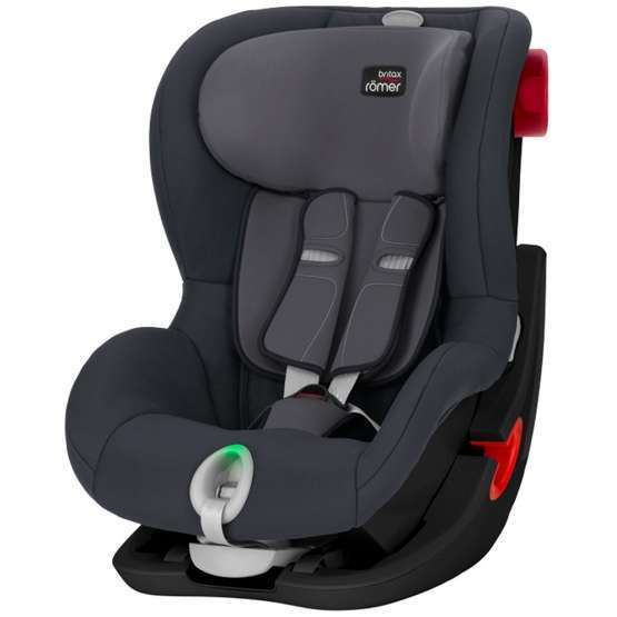 britax romer king ii ls black series storm grey. Black Bedroom Furniture Sets. Home Design Ideas