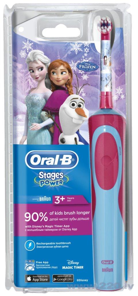 Braun el.zobu birste bērnu - Frozen D 12.513 kids