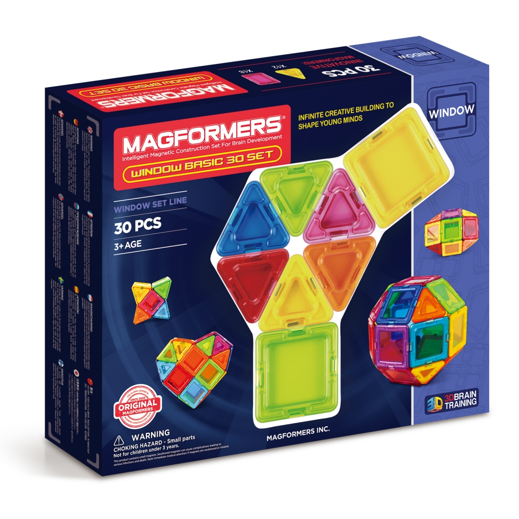 Magformers Window Basic 30 set 714002