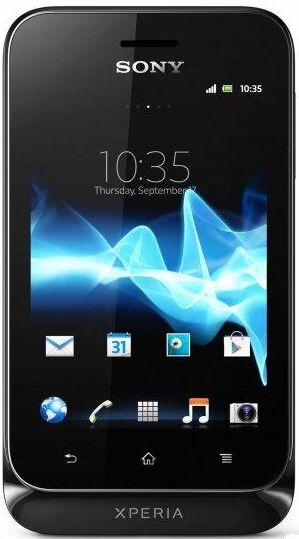Sony Xperia Tipo ST21i2 Dual Sim Melns  97.00