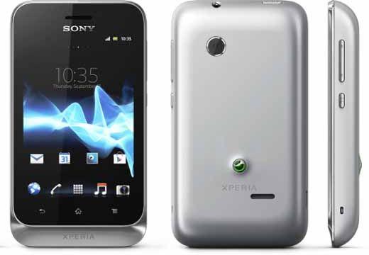 Sony Xperia Tipo ST21i2 Dual Sim Sudrabs  97.00